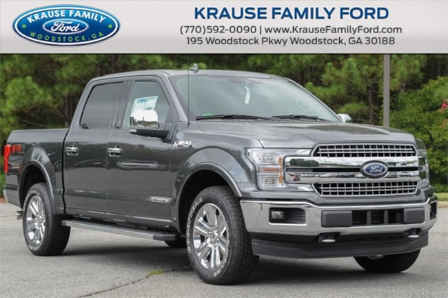 New 2018 Ford F-150 Lariat Truck SuperCrew Cab for sale in Woodstock GA