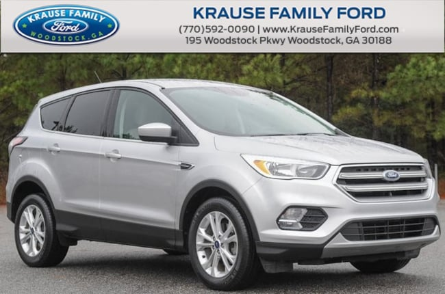 Certified Used 2017 Ford Escape SE Low Miles, Sync Comm. & Entertainment SUV in Woodstock GA