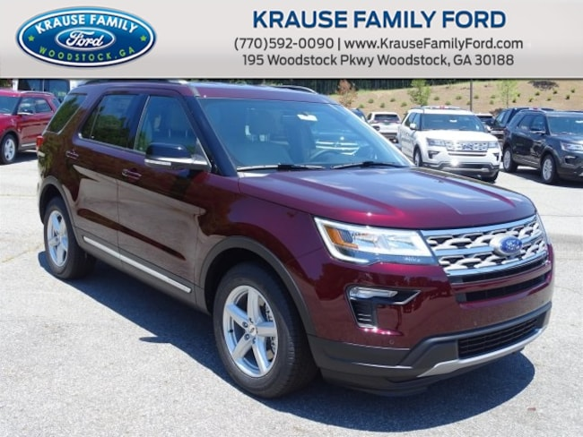 New 2018 Ford Explorer XLT SUV for sale in Woodstock GA