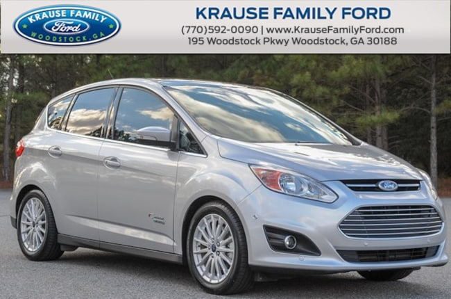 Certified Used 2016 Ford C-Max Energi SEL Navi, Hands-Free & Parking Tech Pkgs, Moonroof Hatchback in Woodstock GA