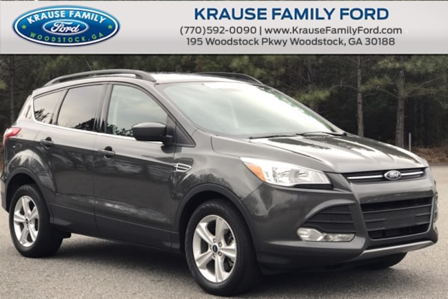 Certified Used 2016 Ford Escape SE Convenience & Cold Weather Pkgs, Navi, Sync3 SUV in Woodstock GA
