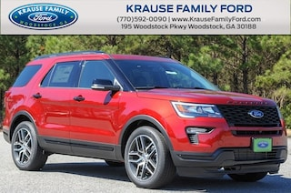 New 2019 Ford Explorer Sport SUV in Alpharetta