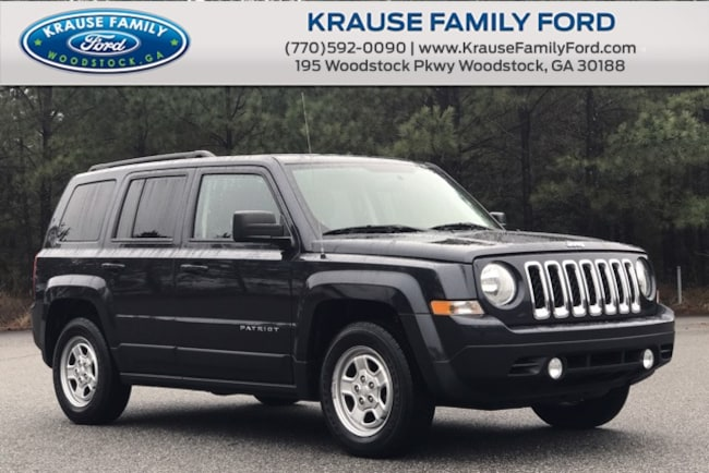 2016 Jeep Patriot Sport Low Miles, Uconnect w/Bluetooth SUV