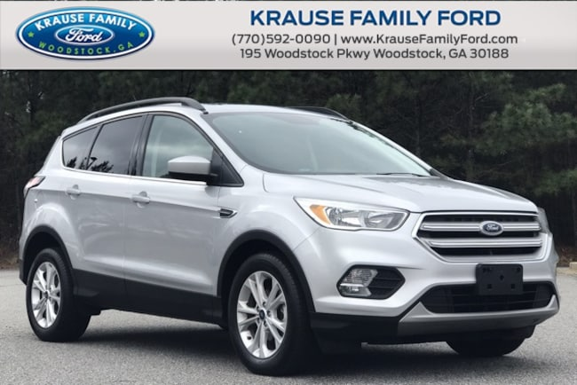 Certified Used 2018 Ford Escape SE Pano Vista Roof, HTD Cloth Seats, Rear View Cam SUV in Woodstock GA