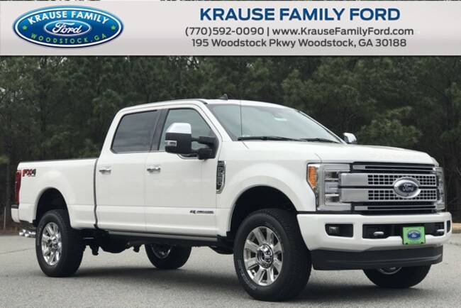 New 2019 Ford F-250 Platinum Truck Crew Cab for sale in Woodstock GA