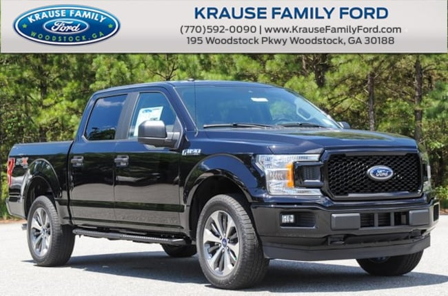 New 2019 Ford F-150 STX Truck SuperCrew Cab for sale in Woodstock GA