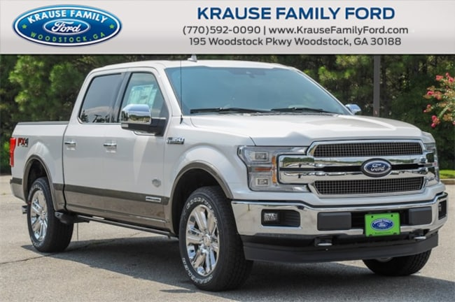 New 2018 Ford F-150 King Ranch Truck SuperCrew Cab for sale in Woodstock GA