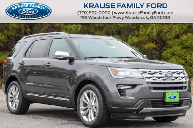 New 2019 Ford Explorer XLT SUV for sale in Woodstock GA