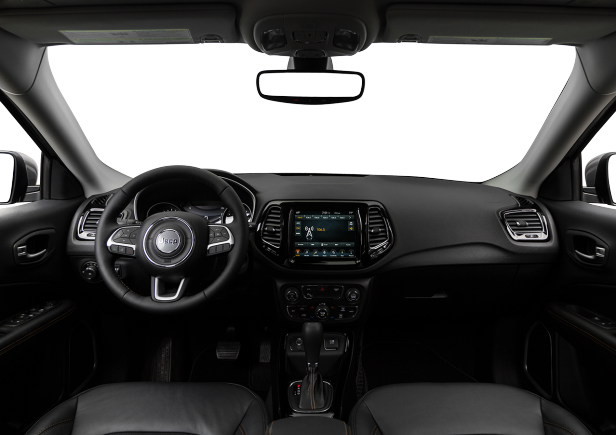 Interior View Of 2018 Jeep Compass in Philadelphia