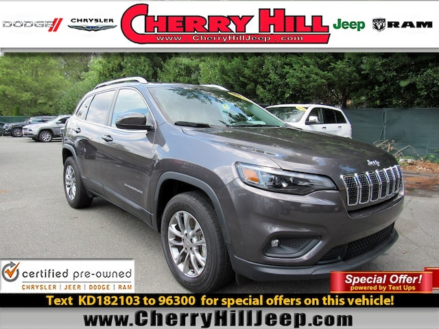 Cherry Hill Triplex >> Used 2019 Jeep Cherokee For Sale At Cherry Hill Triplex Vin