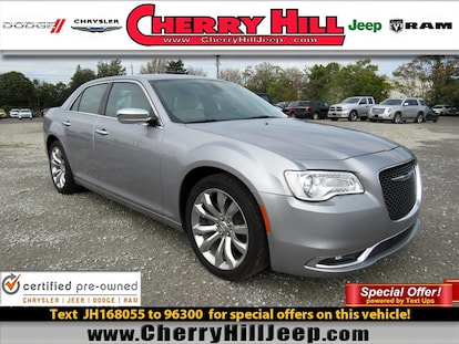 Cherry Hill Dodge >> Used 2018 Chrysler 300 For Sale At Cherry Hill Dodge