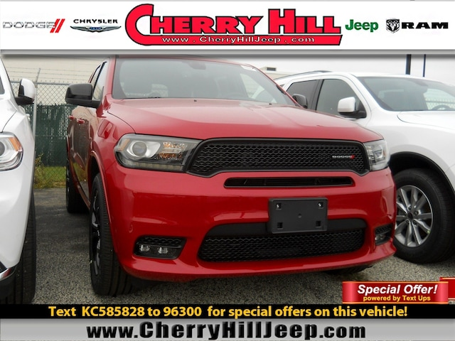 Cherry Hill Triplex >> New 2019 Dodge Durango For Sale At Cherry Hill Triplex Vin