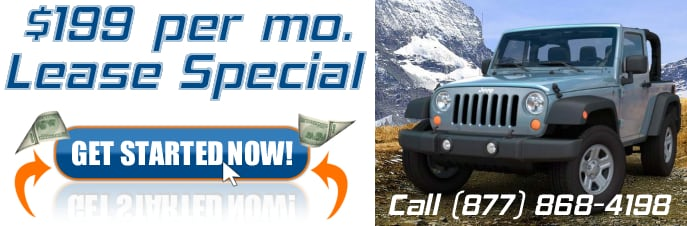 2012 Jeep Wrangler Lease