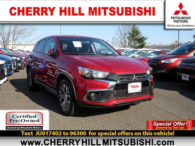 Cherry Hill Triplex >> Used 2018 Mitsubishi Outlander Sport For Sale At Cherry Hill Triplex