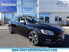 Certified Pre-Owned 2016 Volvo S60 T6 R-Design Platinum Sedan 18-S008A in Cherry Hill, NJ