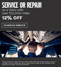 Service or Repair on a Volvo with over 100,000 miles