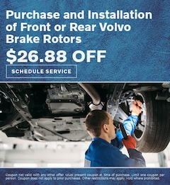 Purchase and Installation of Front or Rear Volvo Brake Rotors