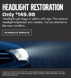 Headlight Restoration Special