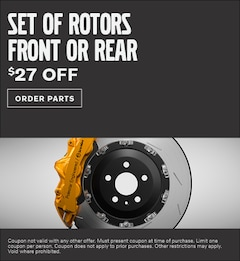 Set of Rotors Front or Rear Special