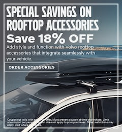 Rooftop Accessories Special