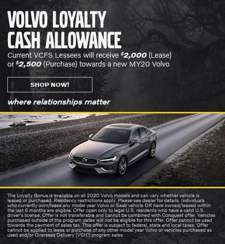 Loyalty Cash Allowance