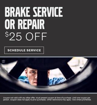 Brake Service or Repair Special
