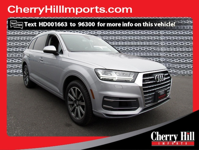Audi Cherry Hill >> Used 2017 Audi Q7 For Sale At Cherry Hill Volkswagen Vin