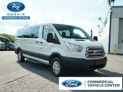 2017 Ford Transit-350 350 XL  LWB Low Roof Passenger Van w/Sliding Passe