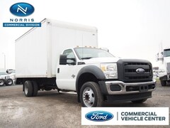 2011 Ford F-550 Chassis Box Truck