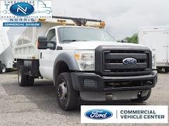 2011 Ford F-450 Chassis Dump Body