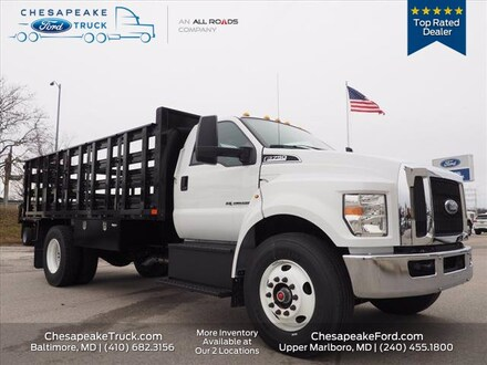 2019 Ford F-750 Diesel Base Truck Regular Cab