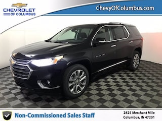 New 2021 Chevrolet Traverse Premier SUV For Sale in Columbus, IN