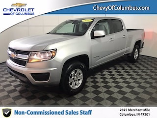 New 2017 Chevrolet Colorado 4WD WT Truck For Sale in Columbus, IN