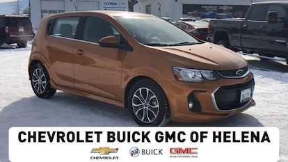 New 2018 Chevrolet Sonic Hatchback Lt Auto W 1sd Orange
