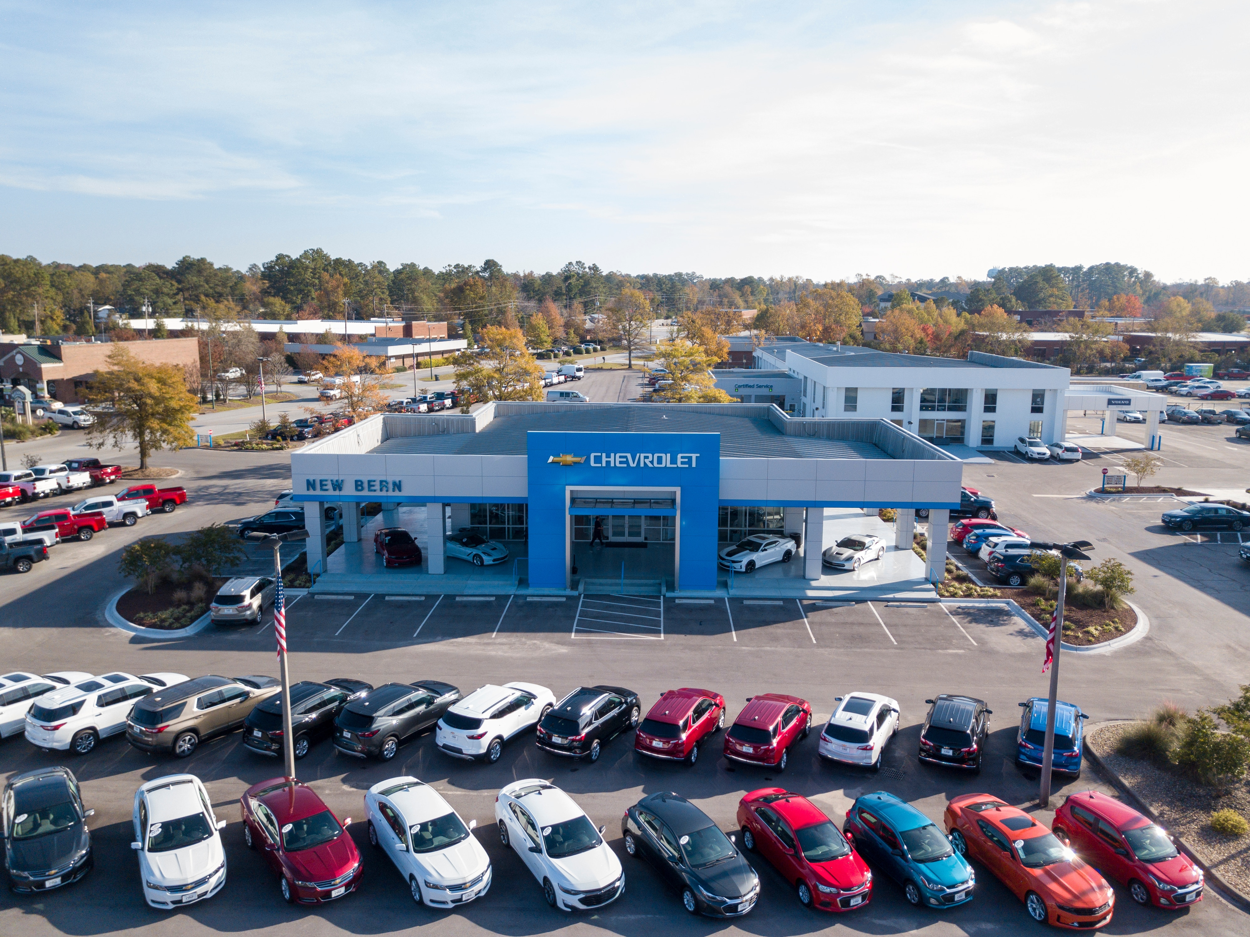 About Chevrolet of New Bern | Storefront of Chevrolet of New Bern