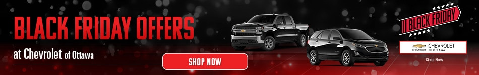 Black Friday Offers at Chevrolet of Ottawa
