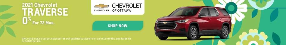 2021 Chevrolet Traverse - April