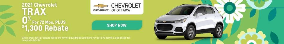 2021 Chevrolet Trax - April