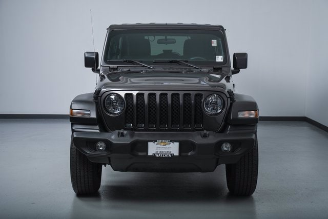 Used 2019 Jeep Wrangler Unlimited Sport with VIN 1C4HJXDGXKW650468 for sale in Wayzata, Minnesota