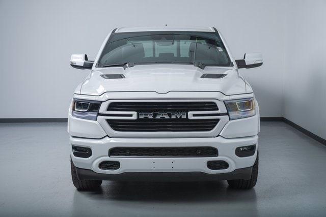 Used 2021 RAM Ram 1500 Pickup Laramie with VIN 1C6SRFJT5MN536940 for sale in Wayzata, Minnesota