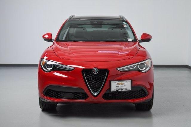 Used 2018 Alfa Romeo Stelvio Ti with VIN ZASFAKBN6J7B98983 for sale in Wayzata, Minnesota