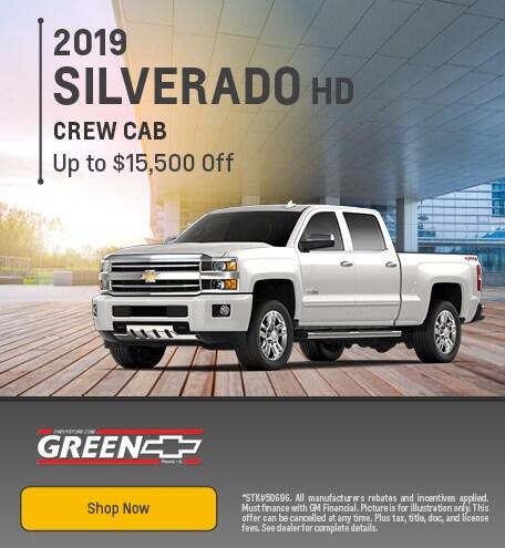 2019 Chevy Silverado HD Discount - August