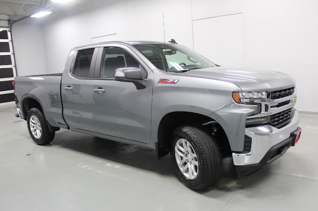 New 2019 Chevrolet Silverado 1500 4WD Double CAB 147 LT Truck Double Cab in Peoria IL
