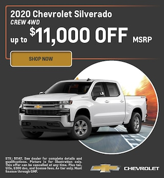 2020 Silverado Offer