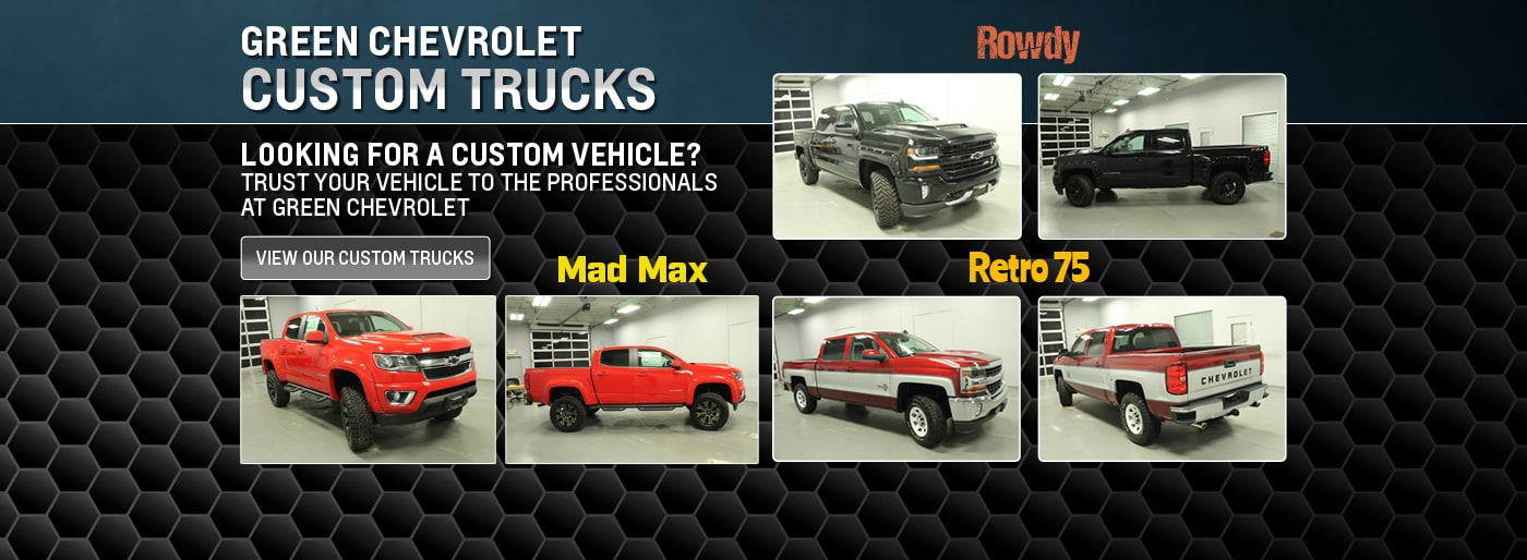 Green Chevy Dealer Peoria | New & Used Car Dealership Serving Morton ...
