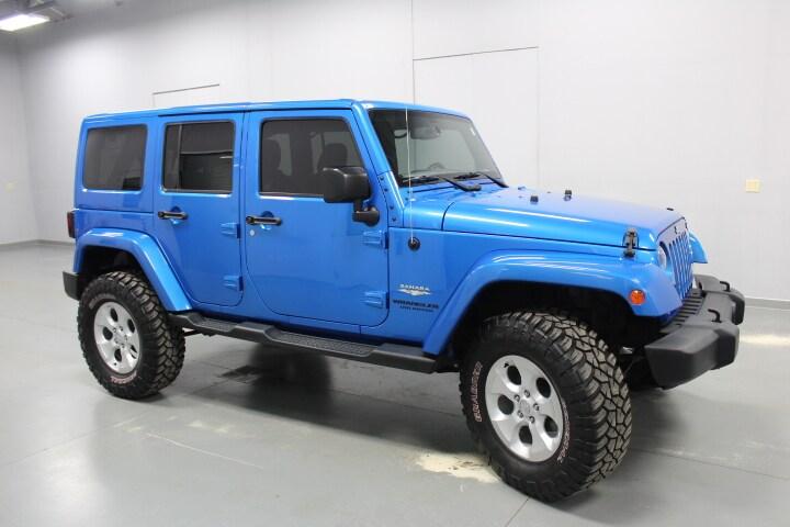 2015 Jeep Wrangler Unlimited Unlimited Sahara SUV