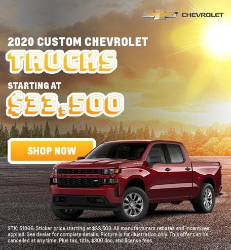 2020 Custom Trucks