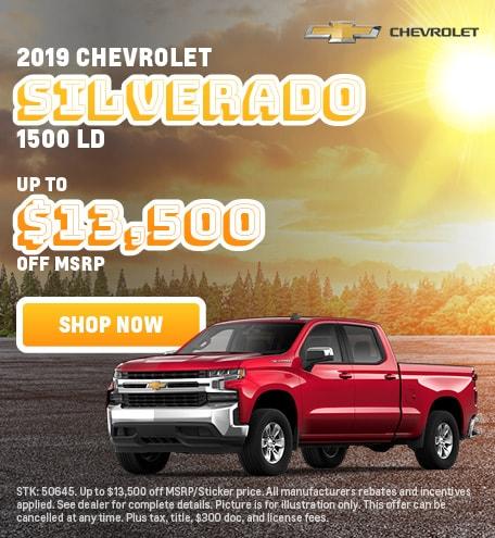 2019 Chevrolet Silverado 1500 Offer