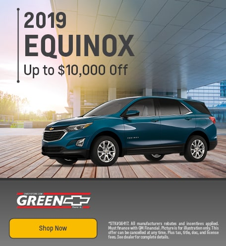 2019 Chevy Equinox Discount - August