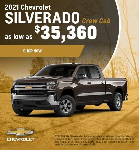 2021 Silverado 1500 Offer